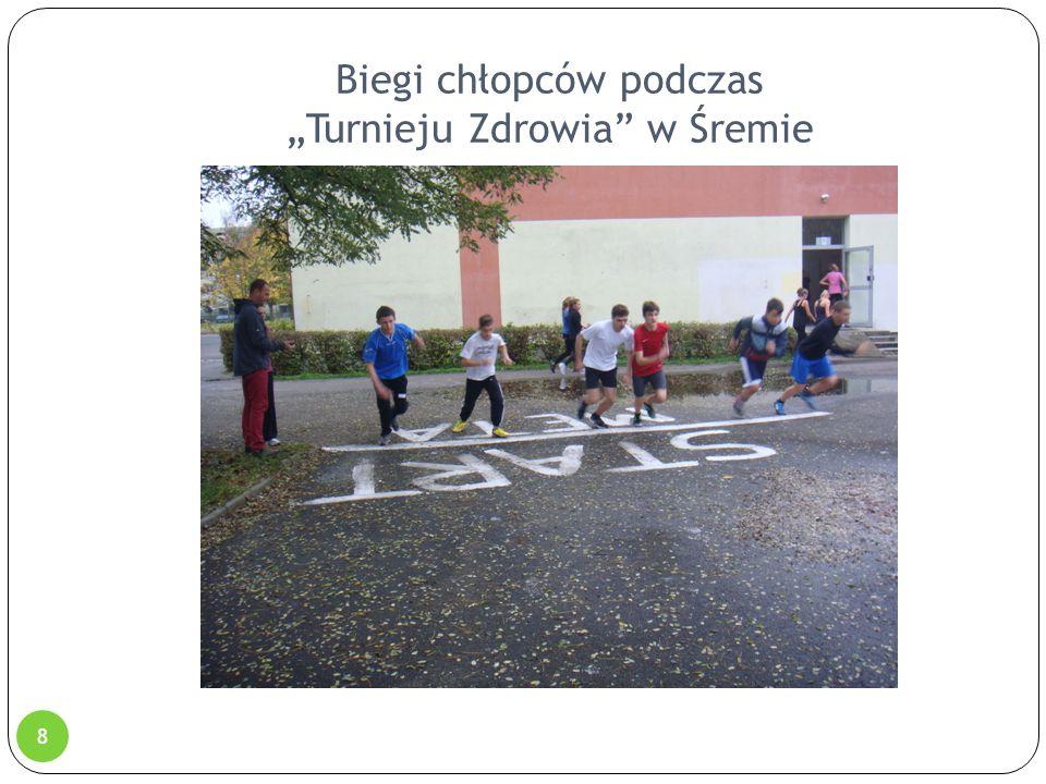 """Biegi chłopców podczas """"Turnieju Zdrowia"""" w Śremie 8"""