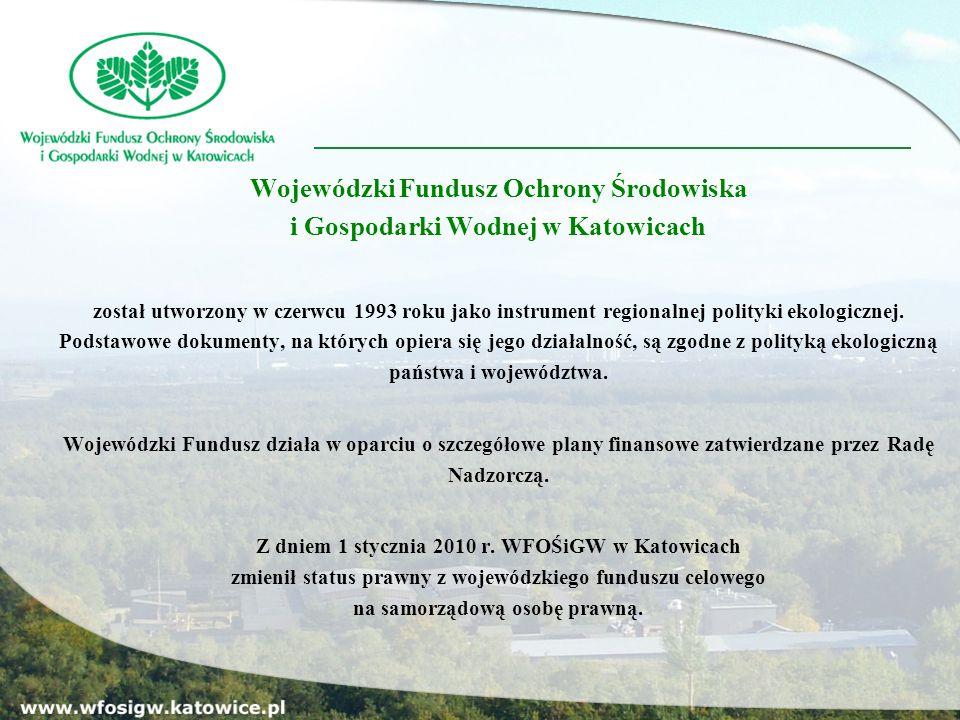 Wszystkie potrzebne dokumenty dostępne są w siedzibie WFOŚiGW w Katowicach w formie papierowej i elektronicznej oraz na stronie internetowej Funduszu: www.wfosigw.katowice.pl