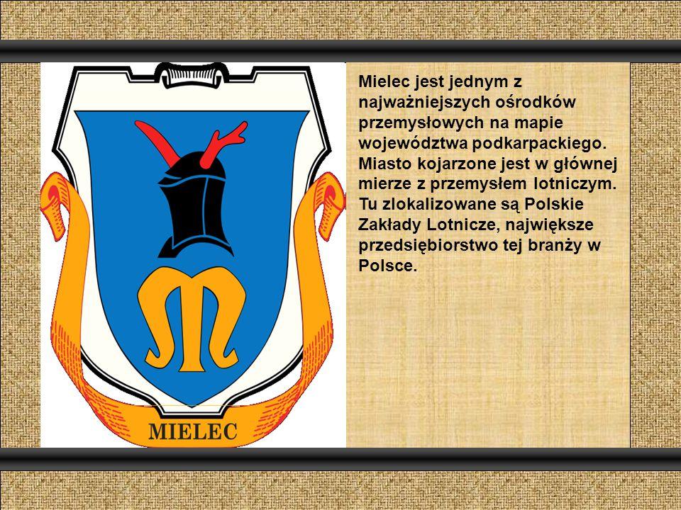 Mielec jest jednym z najważniejszych ośrodków przemysłowych na mapie województwa podkarpackiego.