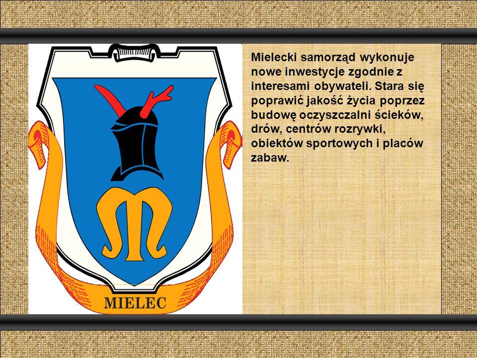 Mielecki samorząd wykonuje nowe inwestycje zgodnie z interesami obywateli.