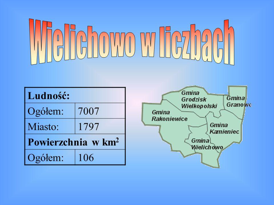 Ludność: Ogółem:7007 Miasto:1797 Powierzchnia w km 2 Ogółem:106