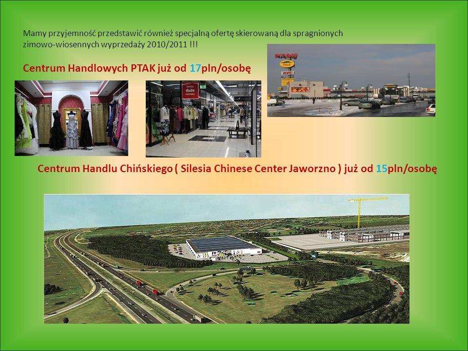 Mamy przyjemność przedstawić również specjalną ofertę skierowaną dla spragnionych zimowo-wiosennych wyprzedaży 2010/2011 !!! Centrum Handlowych PTAK j