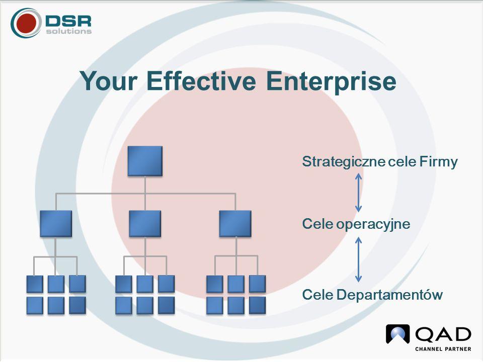 Strategiczne cele Firmy Cele operacyjne Cele Departamentów Your Effective Enterprise