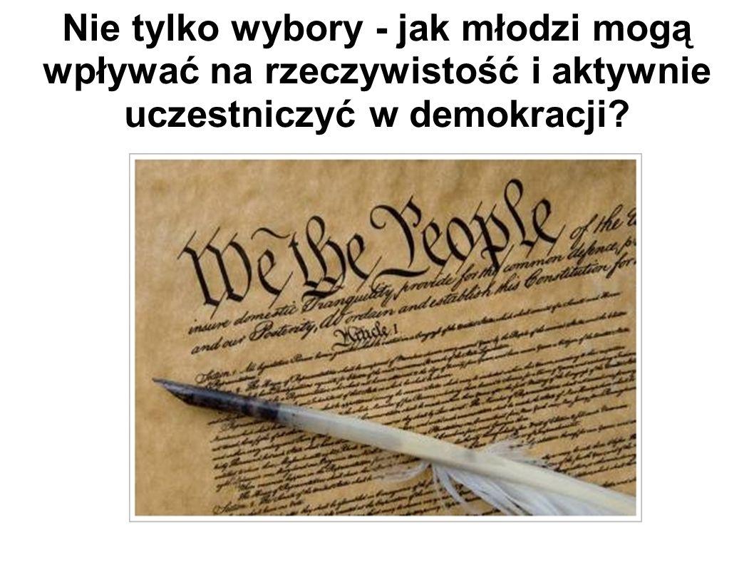 Demokracja.Nie ma ogólnie przyjętej definicji słowa demokracja.