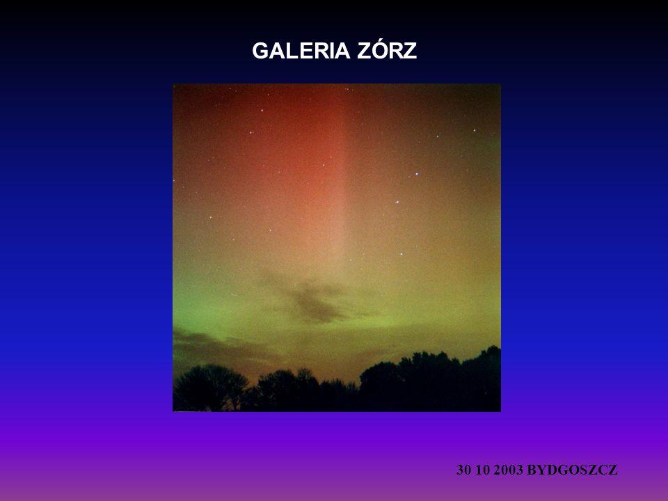 GALERIA ZÓRZ 30 10 2003 BYDGOSZCZ