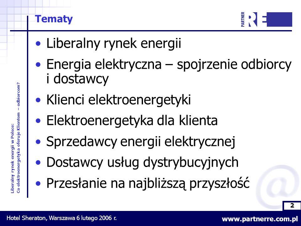 2 Liberalny rynek energii w Polsce: Co elektroenergetyka oferuje Klientom – odbiorcom.