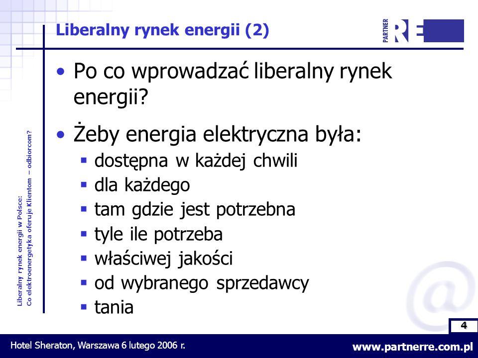 4 Liberalny rynek energii w Polsce: Co elektroenergetyka oferuje Klientom – odbiorcom.