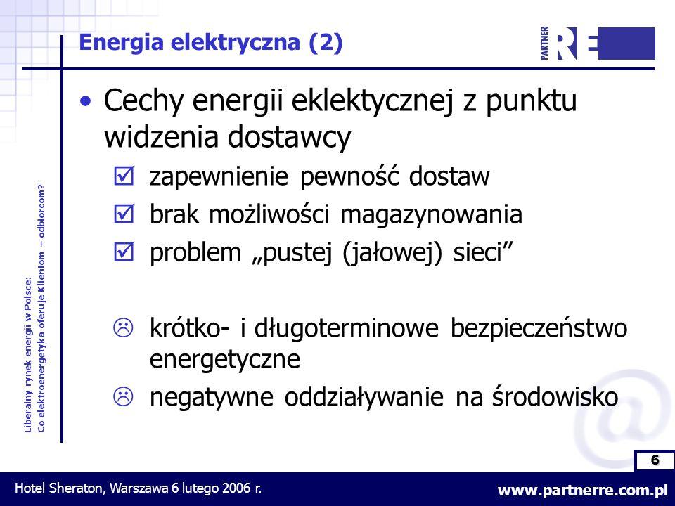 6 Liberalny rynek energii w Polsce: Co elektroenergetyka oferuje Klientom – odbiorcom.