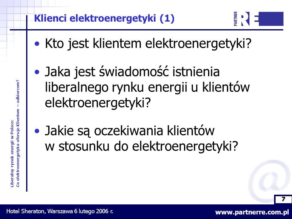 7 Liberalny rynek energii w Polsce: Co elektroenergetyka oferuje Klientom – odbiorcom.