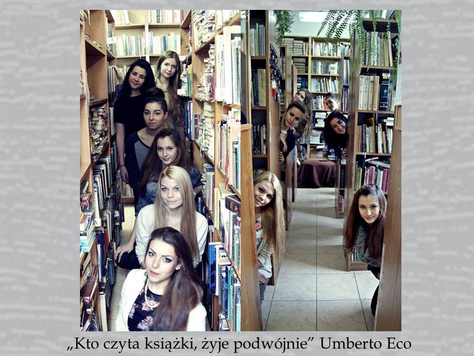 """""""Kto czyta książki, żyje podwójnie Umberto Eco"""