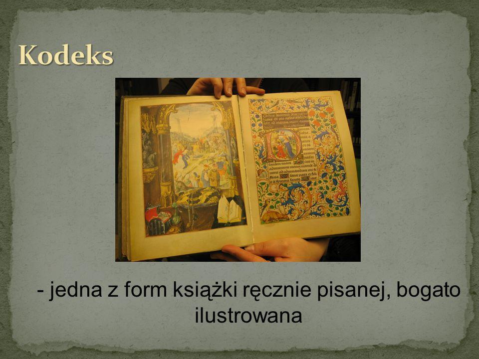 Książkiręcznie pisane, Książki ręcznie pisane, bogato ilustrowane.