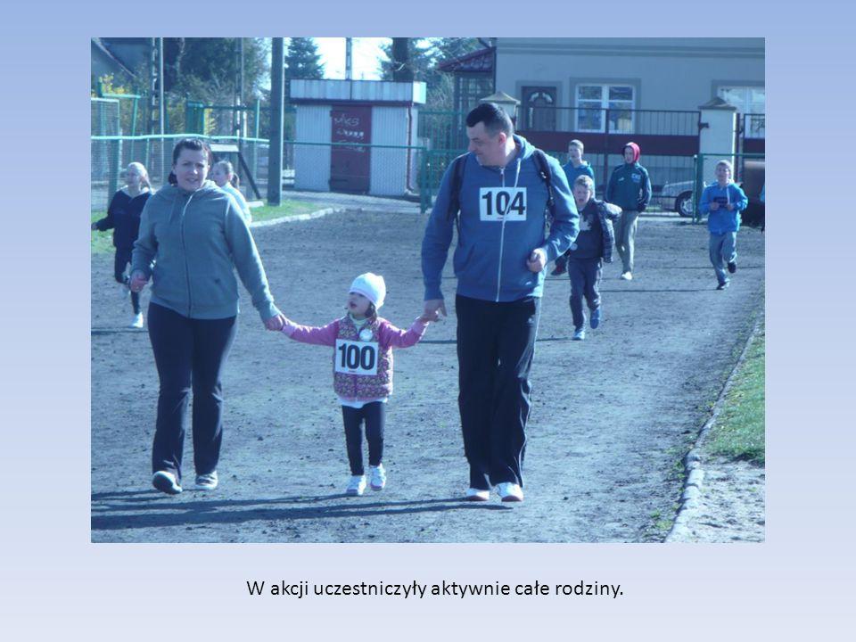 W akcji uczestniczyły aktywnie całe rodziny.