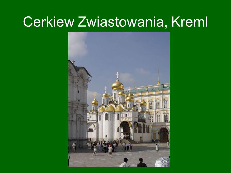Cerkiew Zwiastowania, Kreml