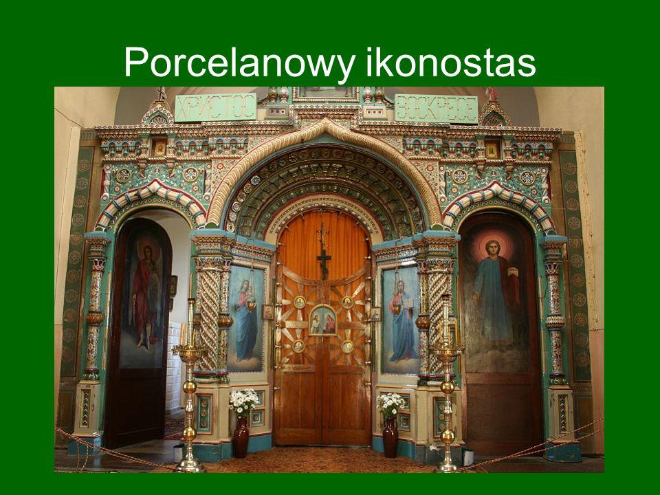 Porcelanowy ikonostas