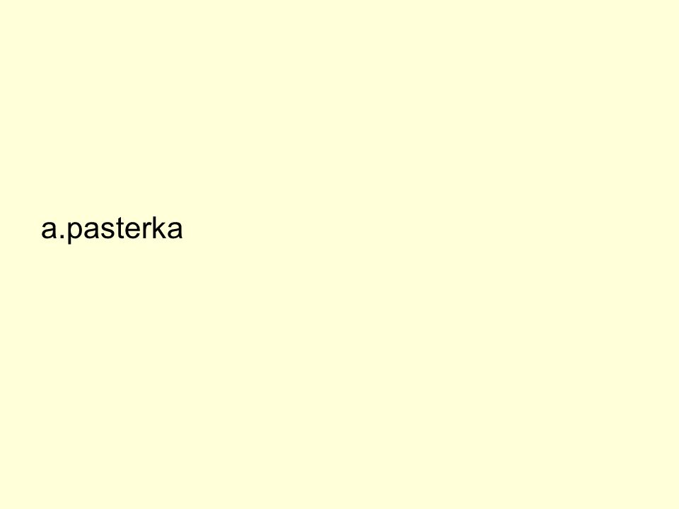 a.pasterka