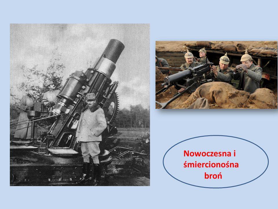 Nowoczesna i śmiercionośna broń