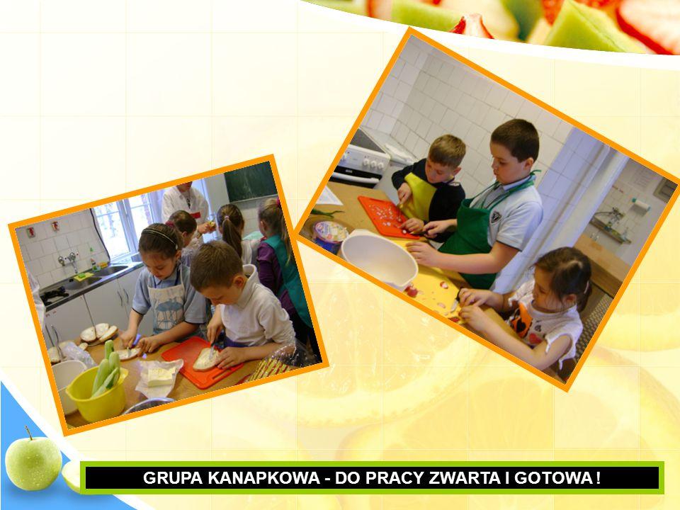 GRUPA KANAPKOWA - DO PRACY ZWARTA I GOTOWA !