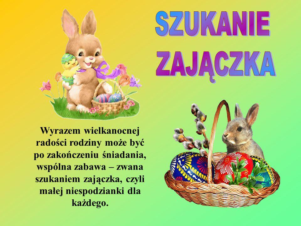 Niedziela Wielkanocna to pierwszy dzień świąt wielkanocnych. W Polsce w godzinach porannych odprawiana jest uroczysta msza. Po powrocie do domu rodzin