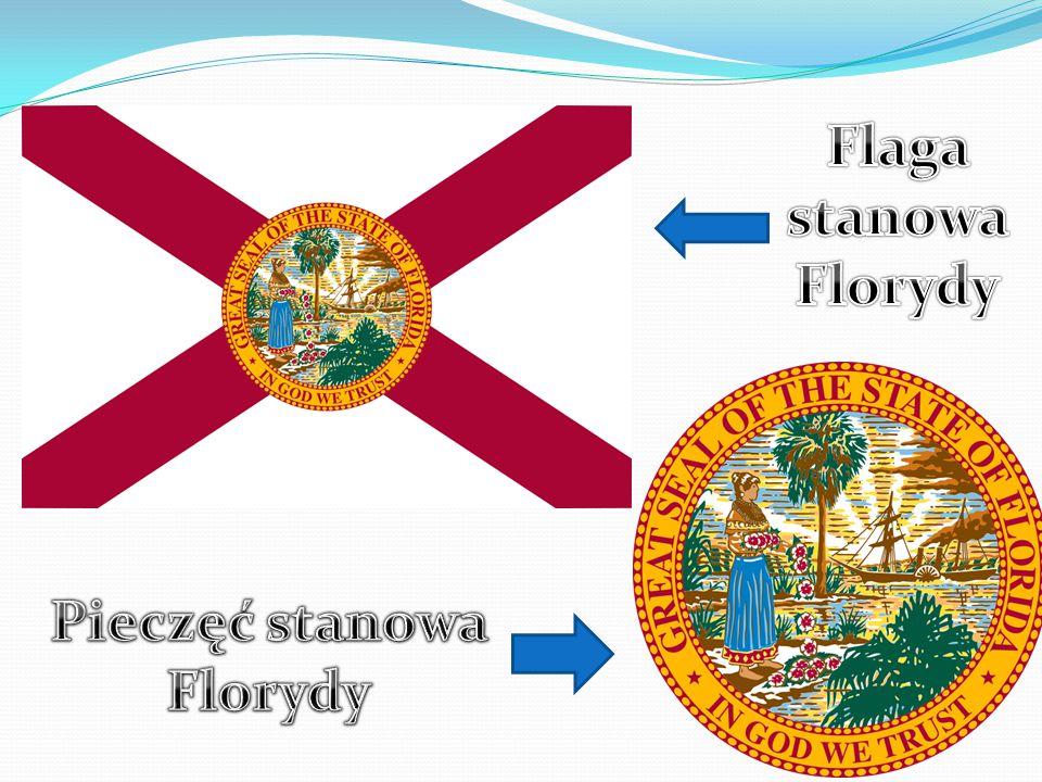 Mapa stanu Floryda Floryda jest w większości położona na wielkim półwyspie pomiędzy Zatoką Meksykańską, Oceanem Atlantyckim i Cieśniną Florydzką.