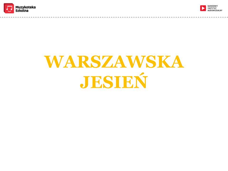 WARSZAWSKA JESIEŃ