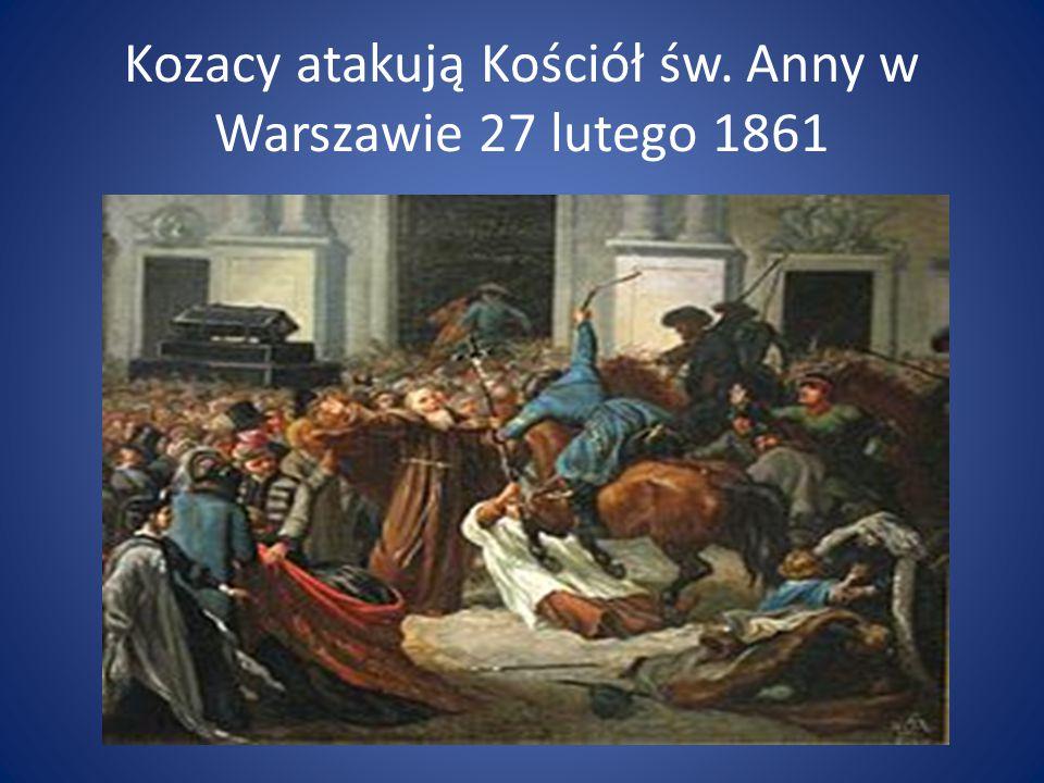Pogrzeb pięciu poległych 2 marca 1861 roku