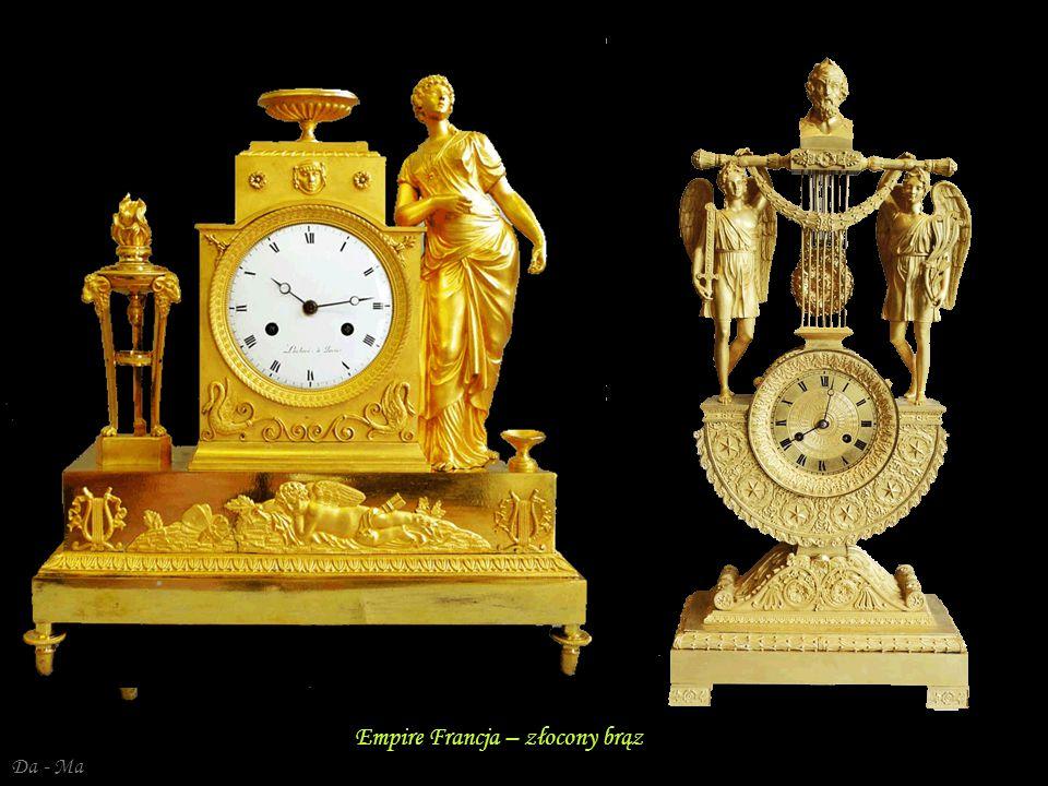 Da - Ma Francja – Dyrektoriat, Empire – brąz złocony