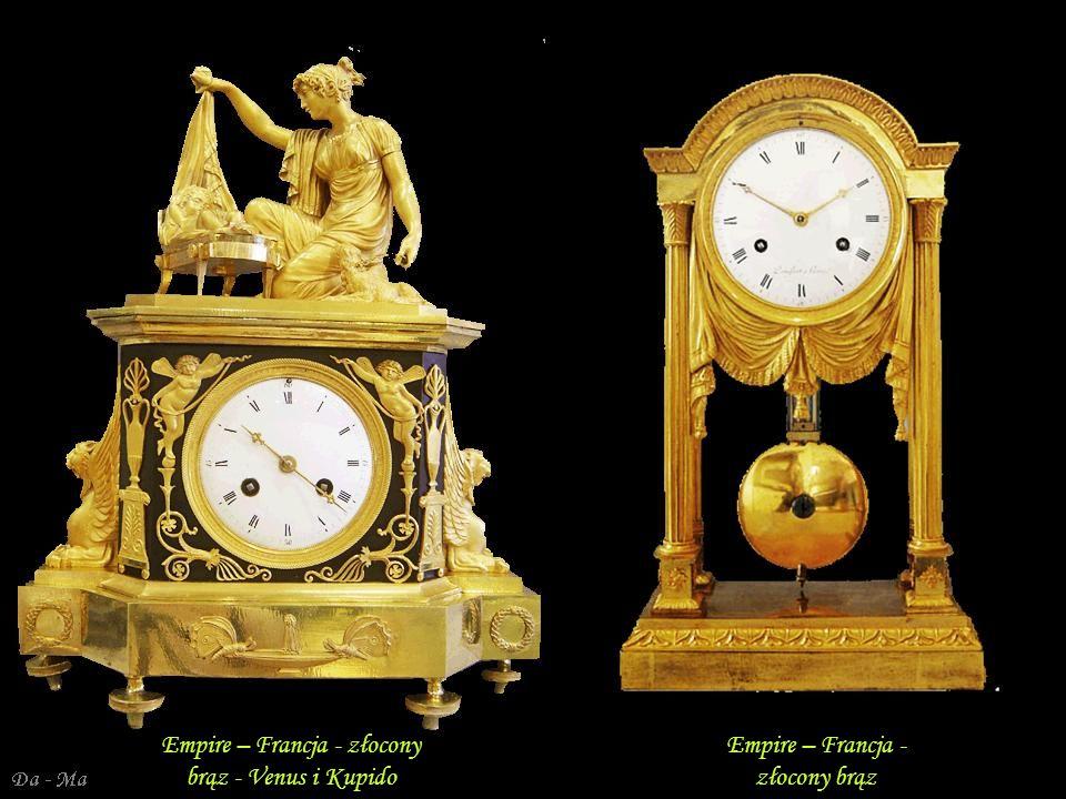 Da - Ma Francja – Empire – brąz złocony