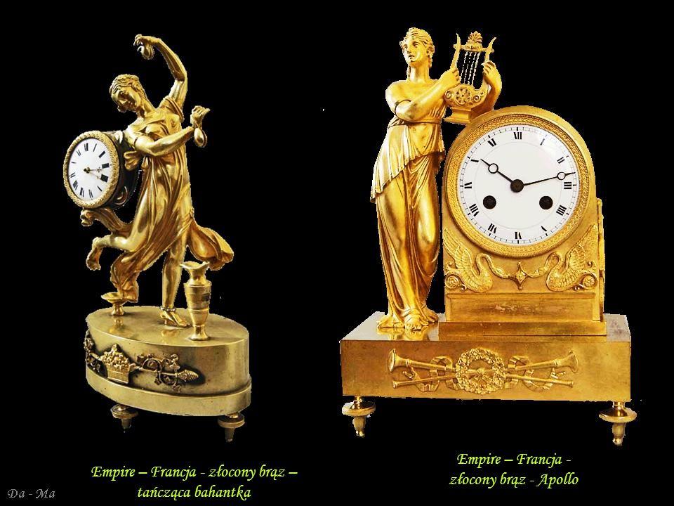 Da - Ma Empire – Francja - złocony brąz Empire – Francja - złocony brąz - Venus i Kupido