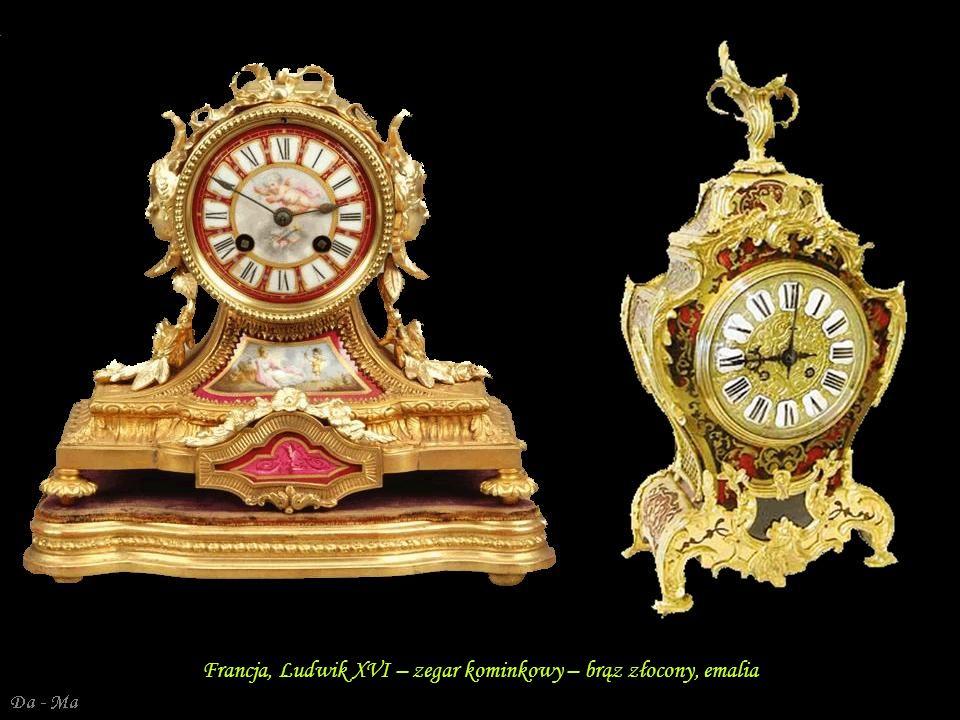 Da - Ma Ludwik XVI – złocony brąz