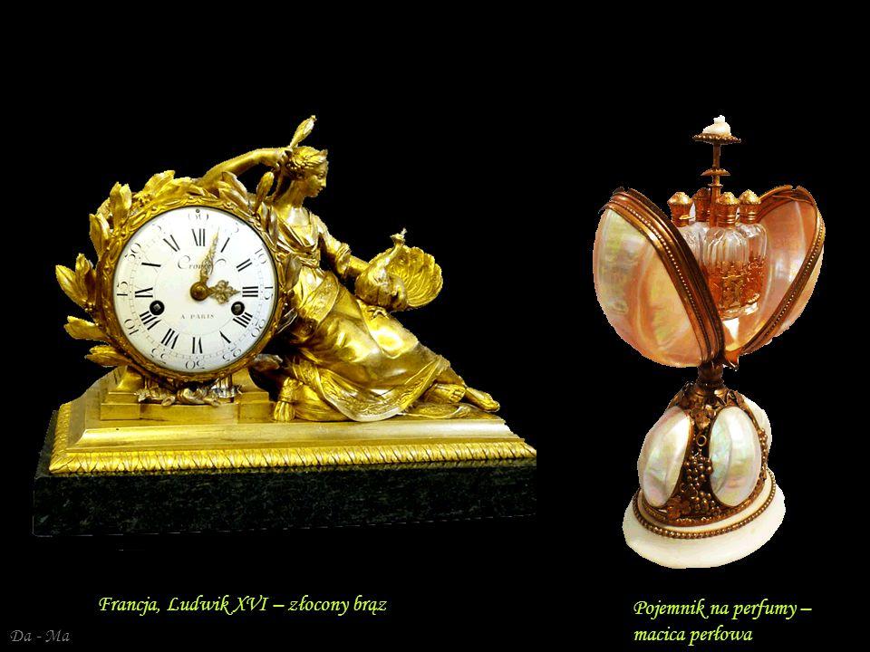 Da - Ma Ludwik XVI – złocony brąz, biały marmur