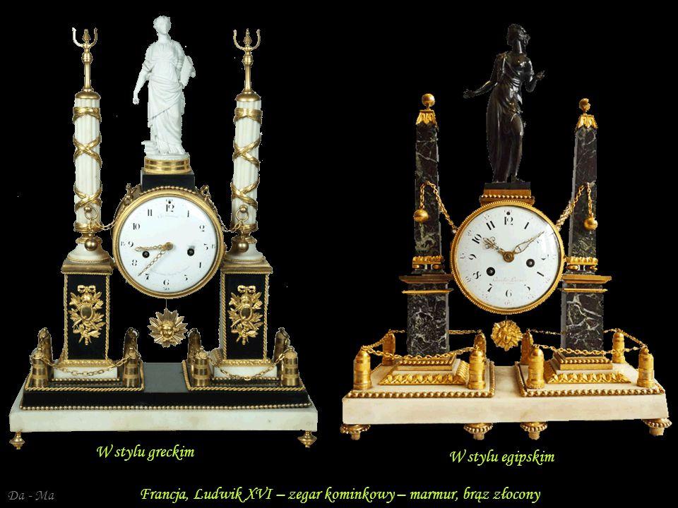 Da - Ma Francja, Ludwik XVI – złocony brąz Pojemnik na perfumy – macica perłowa