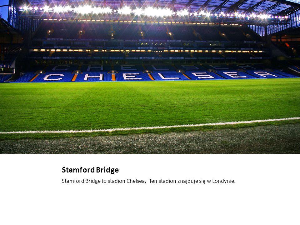 Emirates Stadium To jest stadion Arsenalu.