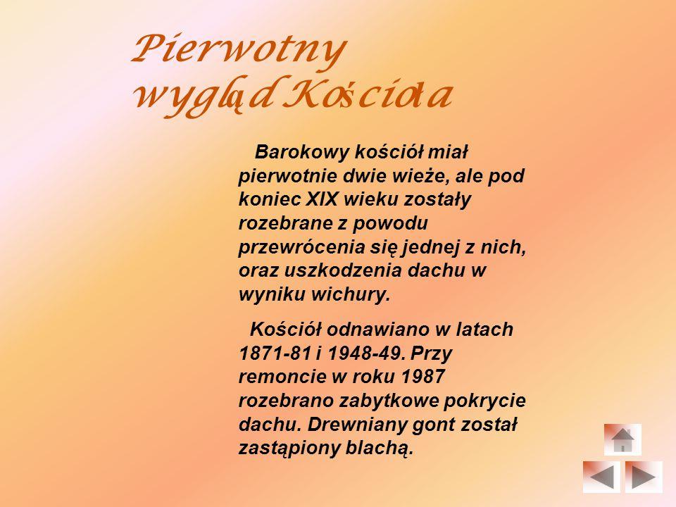 Pierwsze wzmianki pochodzą z 1454r.