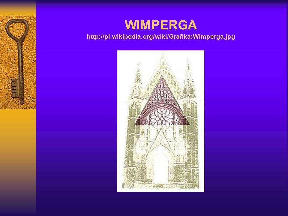 WIMPERGA http://pl.wikipedia.org/wiki/Grafika:Wimperga.jpg