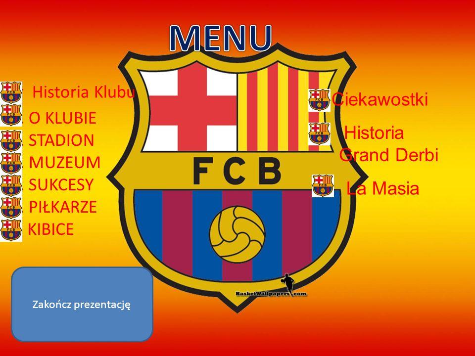 HISTORIA POWSTANIA Futbol Club Barcelona, w skrócie Barça (wym.