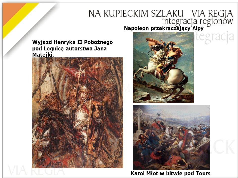 Wyjazd Henryka II Pobożnego pod Legnicę autorstwa Jana Matejki.