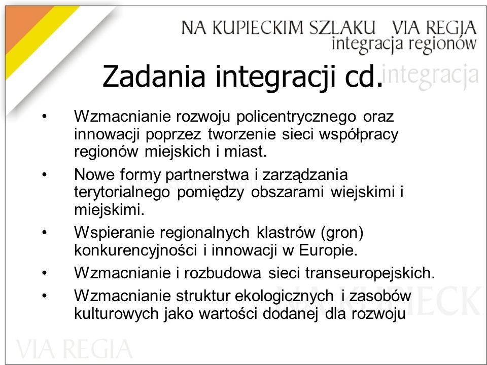 Zadania integracji cd.