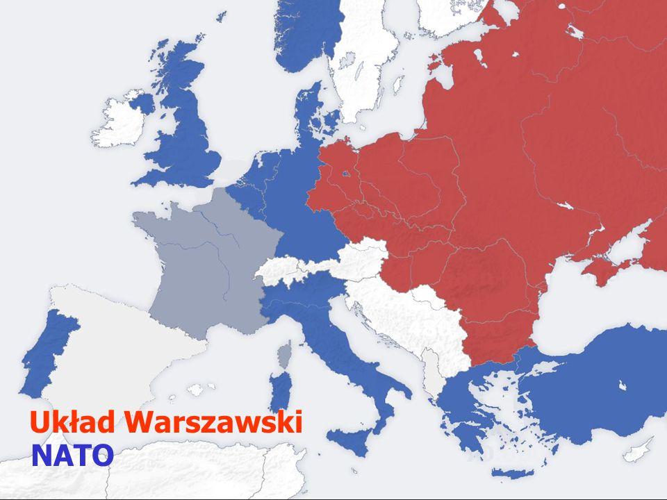 NATO Układ warszawski Układ Warszawski NATO