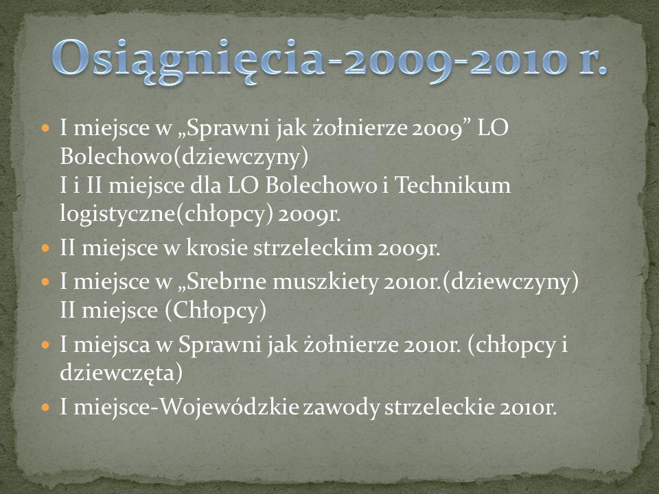 I miejsce w mistrzostwach powiatu poznańskiego – strzelanie z broni pneumatycznej 2011r.