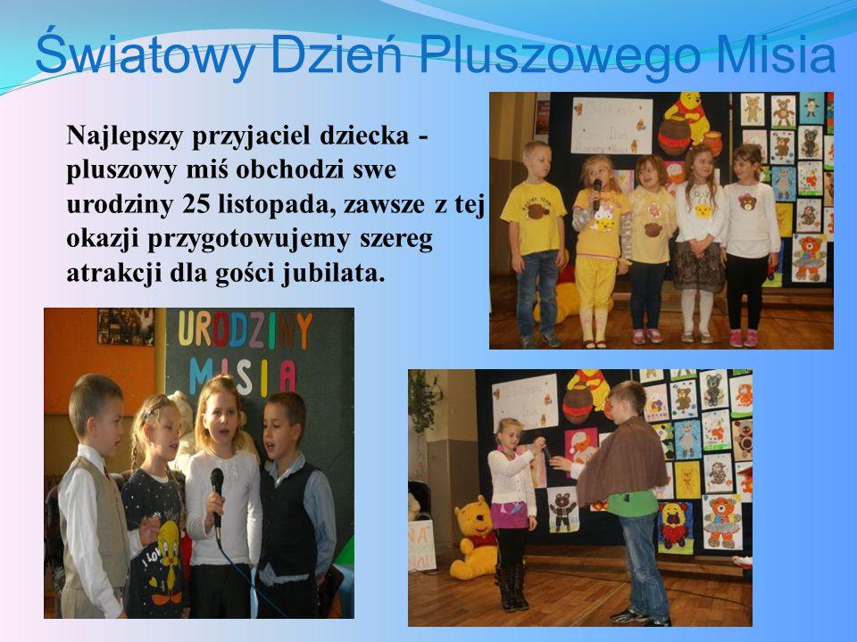 Światowy Dzień Pluszowego Misia Najlepszy przyjaciel dziecka - pluszowy miś obchodzi swe urodziny 25 listopada, zawsze z tej okazji przygotowujemy szereg atrakcji dla gości jubilata.