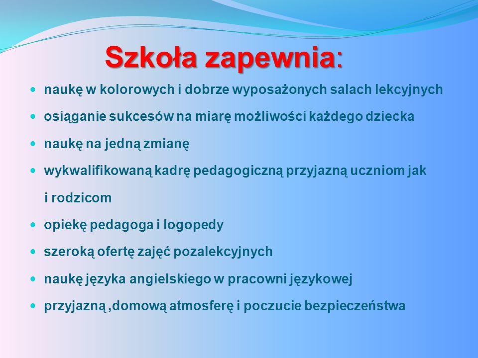 Konkursy pozaszkolne Gminny Konkurs,,Omnibus'' w Rożentalu –III miejsce ROK SZKOLNY 2013/2014 ROK SZKOLNY 2012/2013