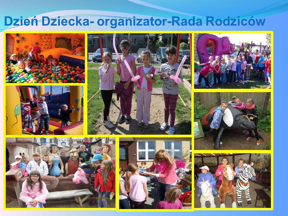 Dzień Dziecka- organizator-Rada Rodziców