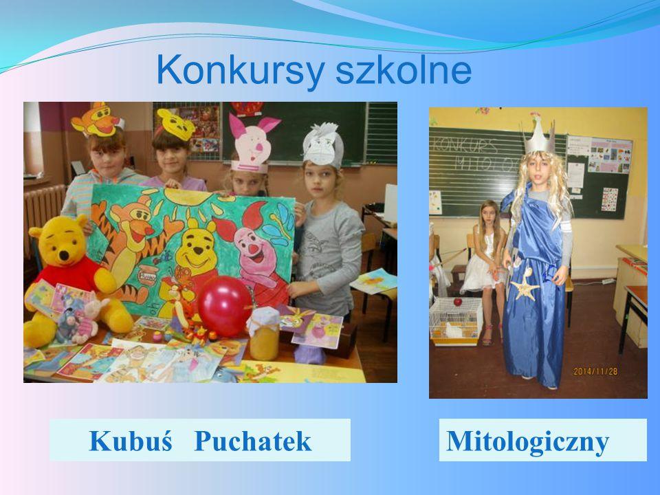 Konkursy szkolne Kubuś PuchatekMitologiczny