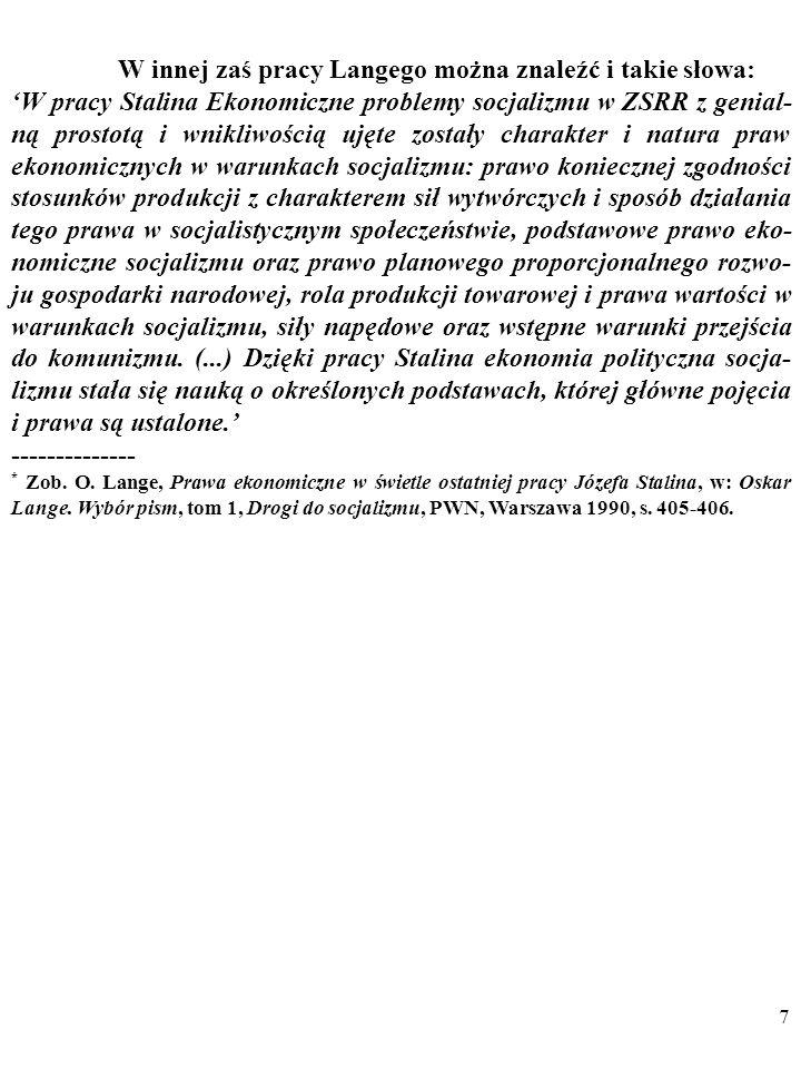 177 Co wynika z tych zaleceń Poppera w przypadku mojego przykładu z obroną mikroekonomicznej teorii popytu przed anomalią obserwacyjną za pomocą hipotezy o sygnalizacji.