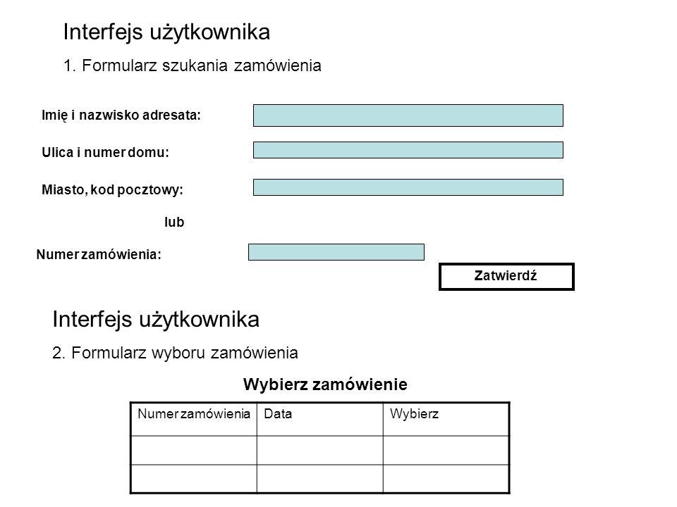 Interfejs użytkownika 1.