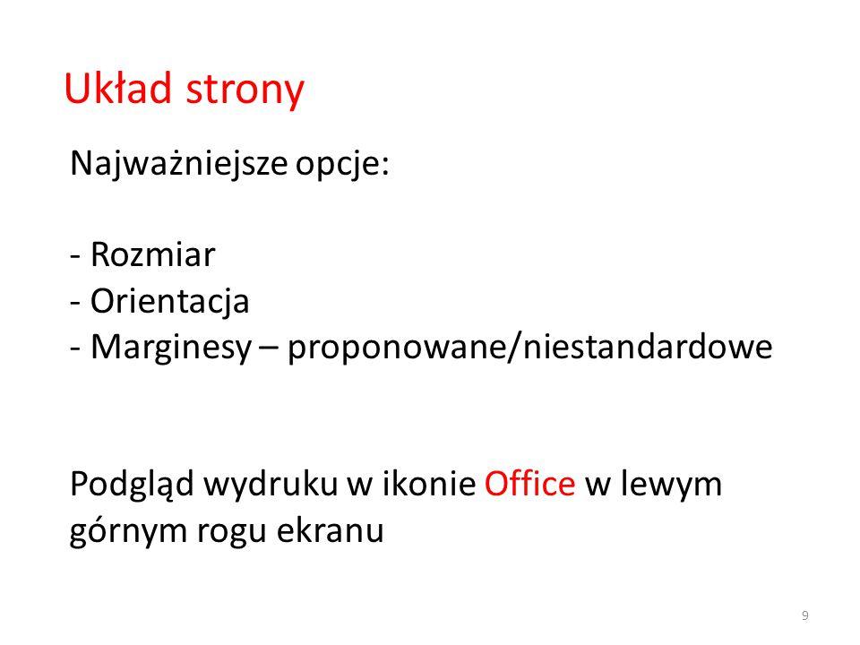 Plik style.css p {font-size: 44px;}.czerwony {background-color:#ff0000;} Plik index.html Indeks: elementy To jest tekst 1 AAA 3 sposób: W osobnym pliku robimy definicje stylów