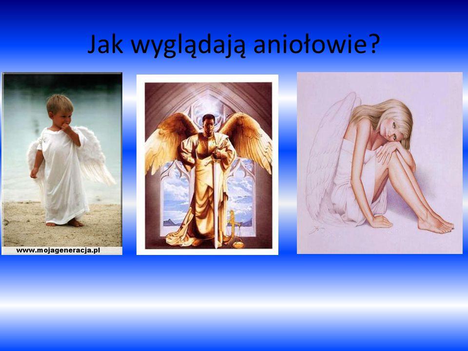 Jak wyglądają aniołowie?