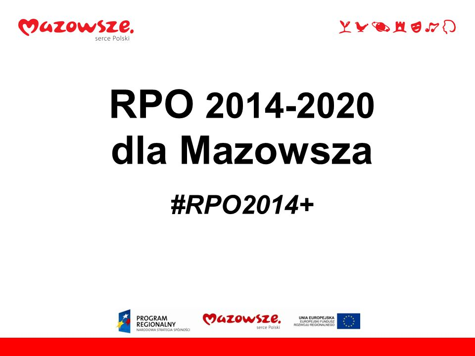 RPO 2014-2020 dla Mazowsza #RPO2014+