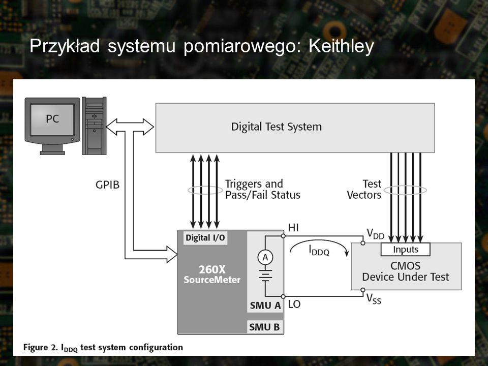 Przykład systemu pomiarowego: Keithley