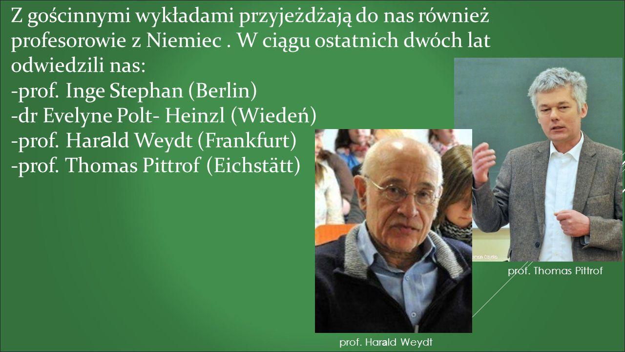 Aktywnie działamy w ramach Koła Naukowego Germanistów KUL